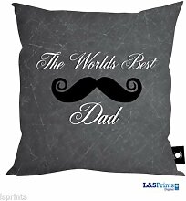Väter Tag Geschenk Worlds Best Dad Schnurrbart Design, hergestellt in Yorkshire tolle Geschenkidee für Dad