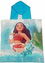 Vaiana Disney Badeponcho mit Blumenmuster für