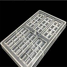 VAK Schokolade Bar Form Polycarbonat Jelly