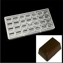 VAK Umschlag Form Polycarbonat Schokolade Form,