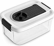 Vakuum Behälter-Set 2 tlg. Vakuum-Box,