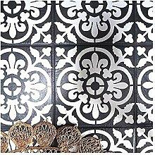VALENCIA FLIESE Wand Möbel Fußboden Schablone