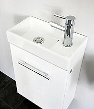 Valencia Handwaschbecken 40cm mit Unterschrank