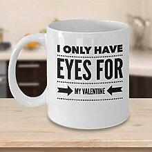 Valentinstag Kaffeetasse Geschenkidee für
