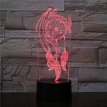 Valentinstag Windspiel Tischlampe Schalter