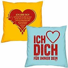Valentinstagsgeschenk Sofa Kissen Set Ich liebe