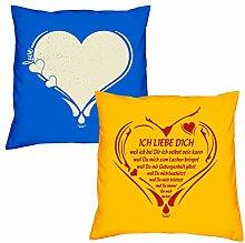 Valentinstagsgeschenk Sofa Kissen Set Love Herz in
