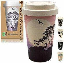 Valere + Coffee to go Bambus-Becher mit