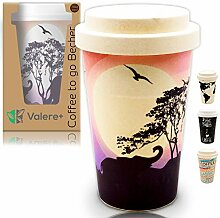 Valere + Coffee to go Bambus-Becher mit