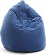 Valerian Sitzsack Microfaser blau, 150 Liter