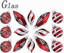 Valery Madelyn 14 TLG Weihnachtskugeln Set aus