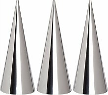 valink 3PCS/LOT Edelstahl Konische Rohr Konus