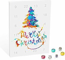 VALIOSA Mode-Schmuck Adventskalender,Merry