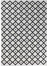 Vallila Elma Wool Teppich 140x200 cm, Charcoal