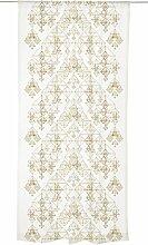 Vallila Himmeli, Dekoration Muster, Vorhang 140 x 240 cm, Baumwoll-Mischgewebe, Gold, 240 x 140 cm