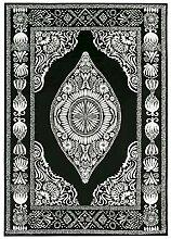 Vallila Hula Shiny Teppich 160x230 cm, schwarz