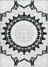 Vallila India Teppich Polyamid Grau 160 x 230 cm