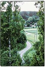 Vallila Kylätie Teppich 160x230 cm, grün