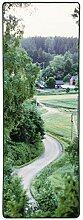 Vallila Kylätie Teppich 80x200 cm, grün
