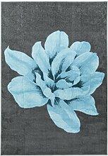 Vallila Lily gedruckt Teppich Synthetikfaser Blau