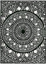 Vallila Mosaiikki Soft Teppich Polyester Schwarz
