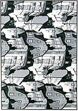 Vallila Södermalm Teppich Polyamid Grau 160 x 230