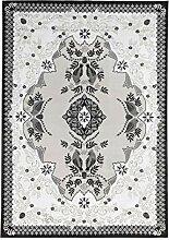 Vallila Tilhi Teppich 160x230 cm, schwarz-Weiß