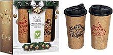 Value Reise-Kaffeetasse aus Kork,