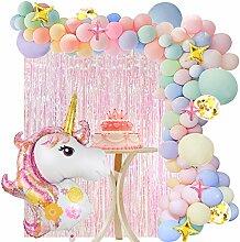 VAMEI Party Deko Luftballon Folie Fringe