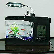 vamie Mini-Multifunktions USB LCD-Aquarium aus