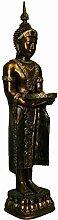 Vamundo Große Buddha Figur mit Schale