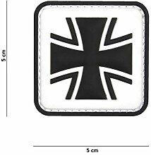 Funsport Emblem 3D PVC Bundeswehr mit Adlerkopf Klett Abzeichen Eisernes Kreuz