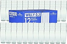 Van Well 120er Set Bierglas Willibecher 0,3L mit