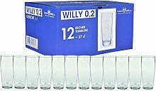 Van Well 12er Set Biergläser Willibecher 0,2L