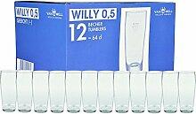 Van Well 12er Set Bierglas Willibecher 0,5l geeich