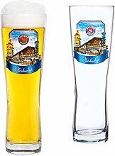 Van Well 2er Set Paulaner Weizenbierglas - 0,5