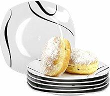 Van Well Galaxy 6er Set Frühstücksteller,
