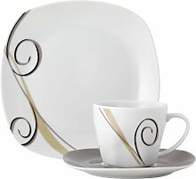 van Well Kaffeeservice ALLEGRO (18-tlg.),