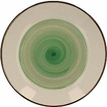 Van Well Speiseteller Nova I Ø27cm I grün I