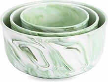 Vancasso, Porzellan Schalen Set in 3 Größe, 3