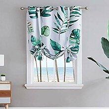 Vandesun Thermo-Vorhang mit Stangentasche, Grün