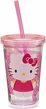 Vandor Hello Kitty Becher mit Deckel und