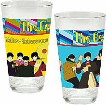 Vandor The Beatles 73012 Laseraufkleber / Glas-Set