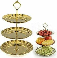 Vanelife Obstkuchenständer, Edelstahl, Etagere