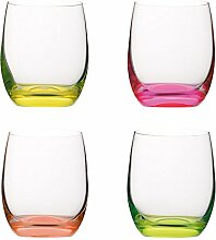 VANILLA SEASON, Bohemia Cristal 4teiliges Gläser