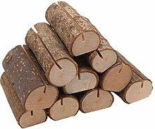VANKOA 10 Stück Holz Holzsteg Tischkartenhalter
