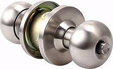 VanMe Indoor Krokett-Kugel-Verschluss Zur Tür-Verschluss-Kugel-Verschluss-Kupfer-Kern-Edelstahl-Kugelverschluss-Kupfer-Schlüssel
