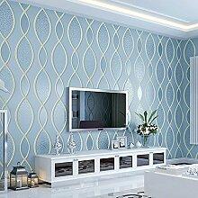 VanMe Kontinentales 3D Tapete-Streifen-Sofa-Wohnzimmer-Schlafzimmer Fernsehhintergrund-Tapete-Nichtgewebtes Nicht-Selbstklebendes