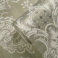 VanMe Luxuriöse Im Europäischen Stil Retro Verzierte Tapete Vlies 3D Wohnzimmer Tv Hintergrundbild,703 Lila Lady