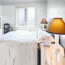 VanMe Selbstklebendes Pvc-Tapete Geometrisches Wohnzimmer-Schlafzimmer-Wände Hotel-Tapete